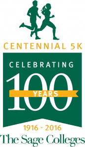 Centennial 5K logo